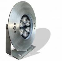 چراغ پایه دار ضد آب استیل تک رنگ 12 وات 12 ولت