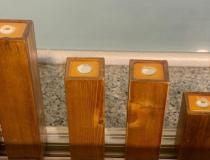 جت لایت چوبی در ارتفاع مختلف
