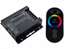 12-24V 8A*2Channels RF Touch CT LED Controller